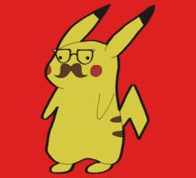 Hipster Pikastache by anonfangirl