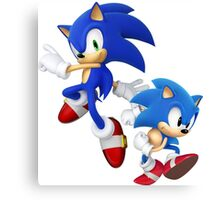 SONIC T-SHIRT Canvas Print