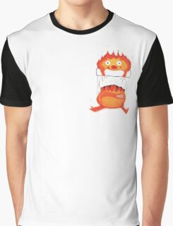 Calcifer in our Heart Graphic T-Shirt