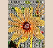 Yellow sunflower design vertical view T-Shirt