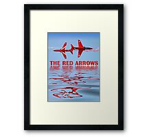 Synchro Reflections - Dunsfold 2013 Framed Print