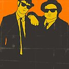 BLUES BROTHERS by JazzberryBlue