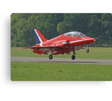 Red Arrow Take Off - Dunsfold 2013 Canvas Print