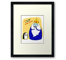 Moustach'd! Framed Print