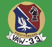 VAW-33 Nighthawkers (Firebirds) Kids Tee