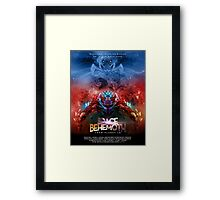 SPACE BEHEMOTH FROM PLANET 10 Framed Print