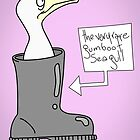 The very rare Gumboot Seagull. by Spudrocket