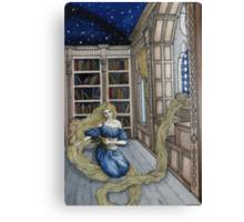 Rapunzel's Escape  Canvas Print