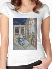 Rapunzel's Escape  Women's Fitted Scoop T-Shirt