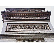 Arche de Triomphe Detail Photographic Print