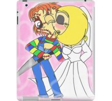 Chibi Chucky and Tiffany iPad Case/Skin