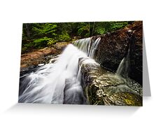 A Rush of Water Greeting Card
