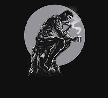 The thinker coffee Unisex T-Shirt