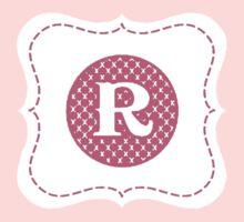 Monogram R Kids Tee