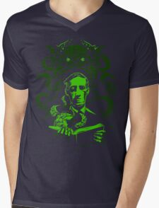 Love Cthulhu Mens V-Neck T-Shirt