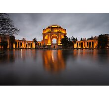 Palace of Fine Arts at Night Photographic Print