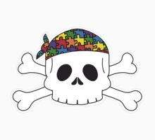Autism Pirate Pride One Piece - Short Sleeve