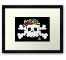 Autism Pirate Pride Framed Print