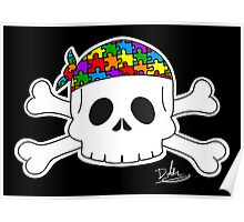 Autism Pirate Pride Poster