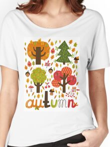 Autumn Women's Relaxed Fit T-Shirt