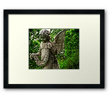Mount Auburn: Flower Bearer Framed Print
