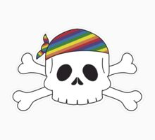 Gay Pirate Pride Kids Clothes