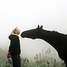 13.9.2013: Woman and Horse by Petri Volanen