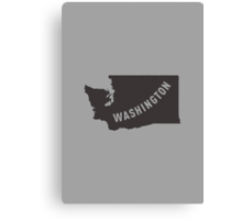 Washington - My home state Canvas Print