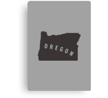 Oregon - My home state Canvas Print