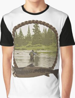 Fly Fisherman Graphic T-Shirt