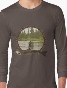 Fly Fisherman Long Sleeve T-Shirt
