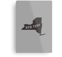 New York - My home state Metal Print