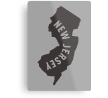 New Jersey - My home state Metal Print