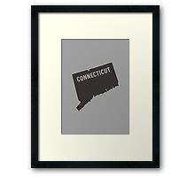 Connecticut - My home state Framed Print