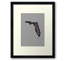 Florida - My home state Framed Print