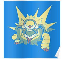 Spikey Shield_Pop Poster