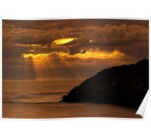 Bridgewater Bay Sunset Poster