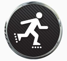 Inline Skating Icon by SignShop