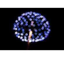 Mushroom of Firework Photographic Print
