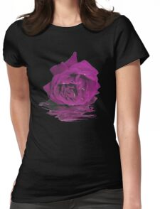 Lonely Rose Womens Fitted T-Shirt