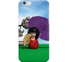 Kokeshi Doll iPhone Case/Skin
