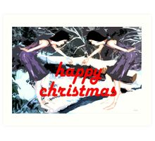 HAPPY CHRISTMAS 51 Art Print