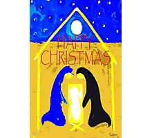 HAPPY CHRISTMAS 55 Photographic Print