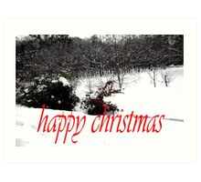 HAPPY CHRISTMAS 57 Art Print