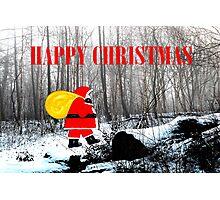 HAPPY CHRISTMAS 60 Photographic Print