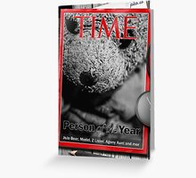 JoJo Bear is Time Person of the Year  Greeting Card