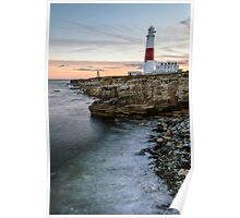 Portland Bill Sunset Poster