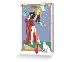 Tarot Fool Greeting Card