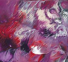 The chaos practice #42 - Purple and Red Revolution by herold