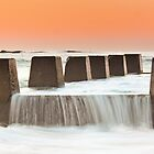 """""""Battlements"""" - Coogee Beach, NSW by Andrew Kerr"""